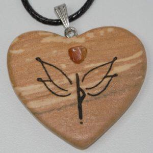 Engel ♥ Runen Herzkette
